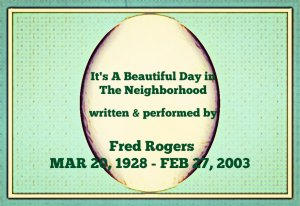 Fred Rogers, Mr. Rogers Neighborhood