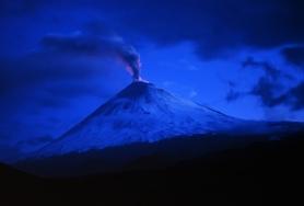 Klyuchevskaya Volcano by Giorgio Galeotti