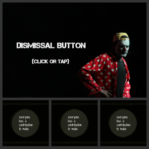Dismissal Button