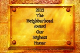 2015 The Neighborhood Award