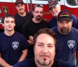 Florence Oregon volunteer firefighters