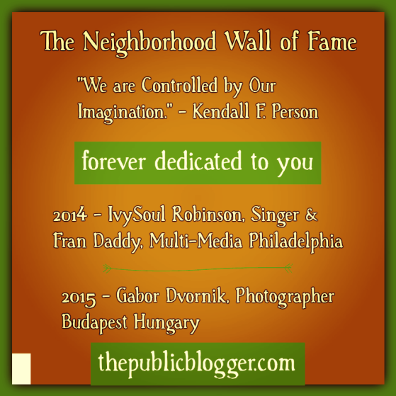 2015 The Neighborhood Wall of Fame