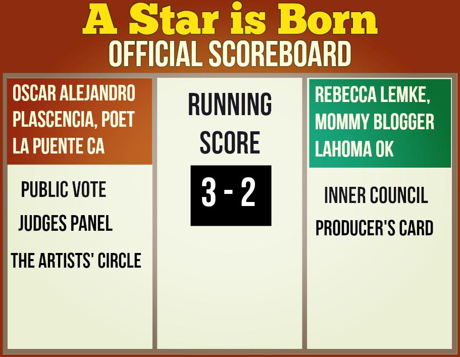 Oscar Plascencia Wins A Star is Born