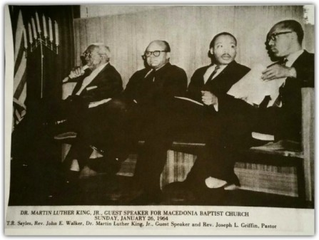 Rev John Walker and Dr. Martin Luther King