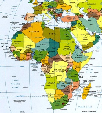 54 african countries
