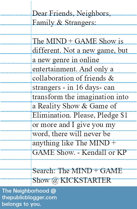 The MIND + GAME Show campaign