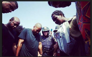 Black men and Police