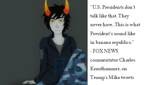 Charles Krauthammer Trump tweets Mika