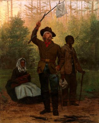 The Surrender of a Confederate Soldier