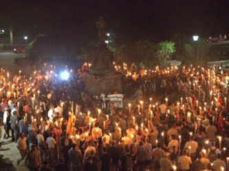 White Nationalists Rally Charlottesville VA 2017