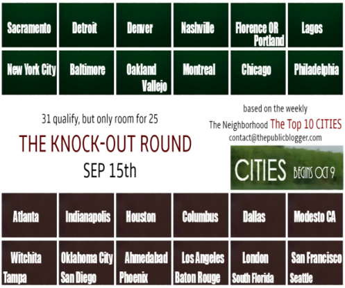 the knock-out round