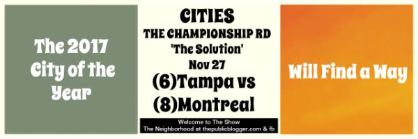 The Championship round
