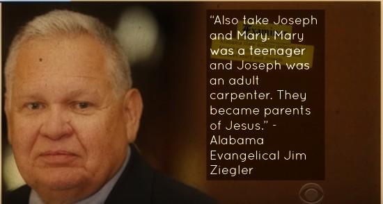 Evangelical Jim Ziegler