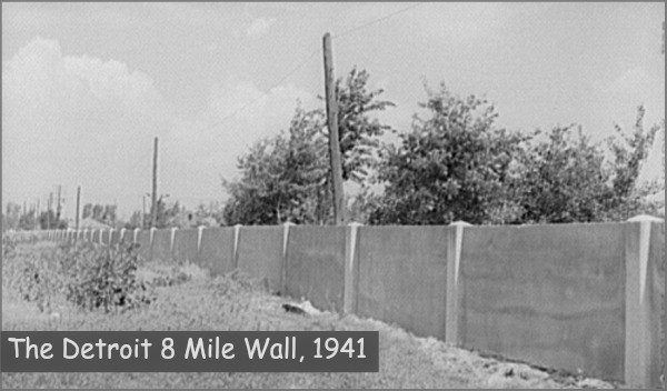 The Detroit 8 Mile Wall