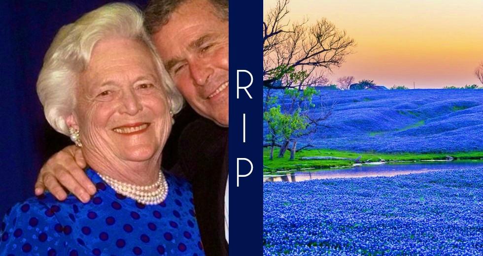 Barbara Bush RIP