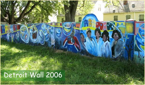 Detroit Wall 2003