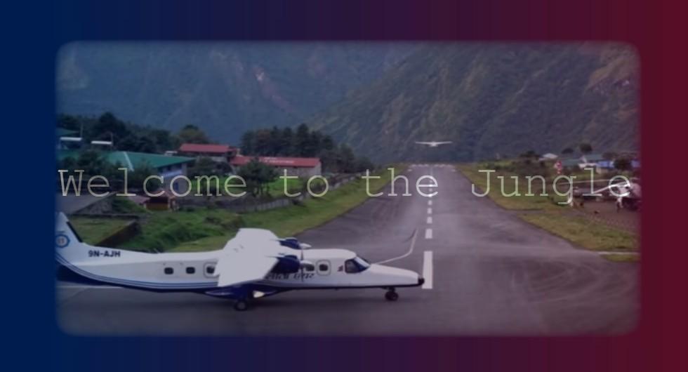 Tenzing-Hillary Airport Lukla Nepal