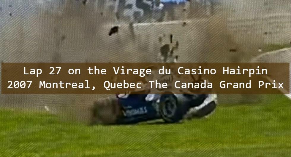 Lap 27 Canada Grand )Prix