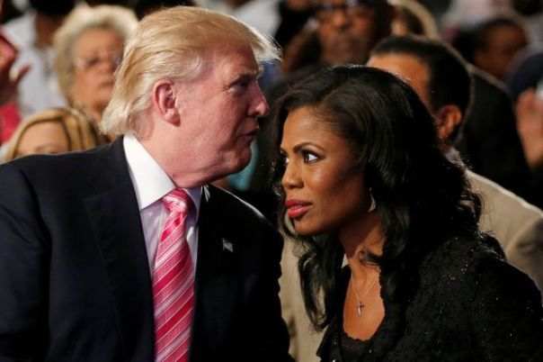 Omarosa and Donald Trump