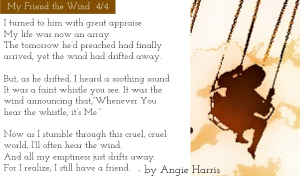 My Friend the Wind by Angie Harris