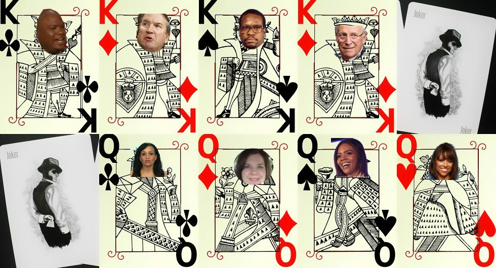 Celebrity Deck of Cards